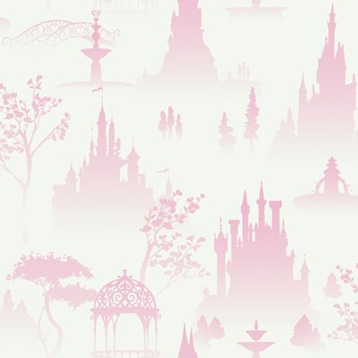 Room Mates Scenic Princess Toile in White