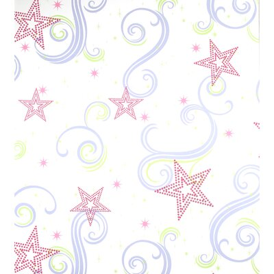 Room Mates Star Glitter Wallpaper