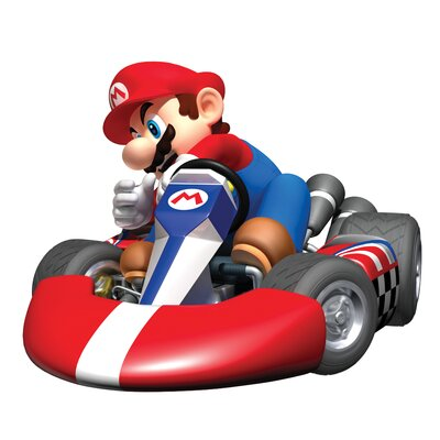 Room Mates Mario Kart Giant Wall Decal