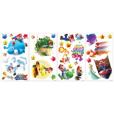 Room Mates Mario Galaxy 2 Wall Decal