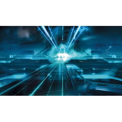 Tron Chair Rail Prepasted Wall Mural