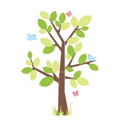 Room Mates Kids Tree Peel and Stick Giant Wall Decal