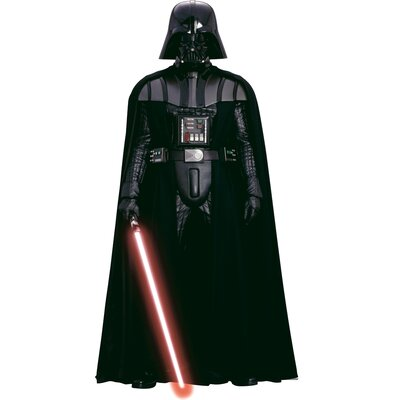 Room Mates Star Wars Classic Vadar Peel and Stick Giant Wall Decal