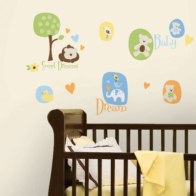Room Mates Modern Baby Peel and Stick Wall Decal
