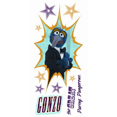 Room Mates Muppets Gonzo Giant Wall Decal