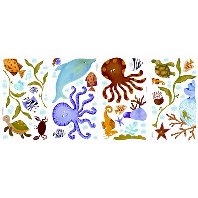 Room Mates Adventures Under The Sea Wall Decal