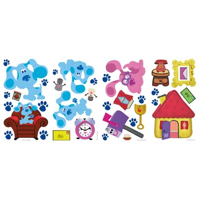 Room Mates Blues Clues Peel and Stick Wall Decals