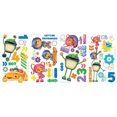 Room Mates Team Umizoomi Peel and Stick Wall Decals