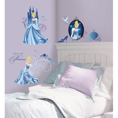 Disney Princess Cinderella Peel and Stick Wall Decals
