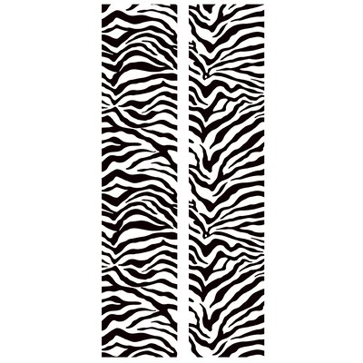Room Mates Zebra Peel and Stick Locker Skins