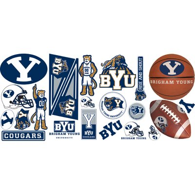 Room Mates NCAA Peel and Stick Wall Decals