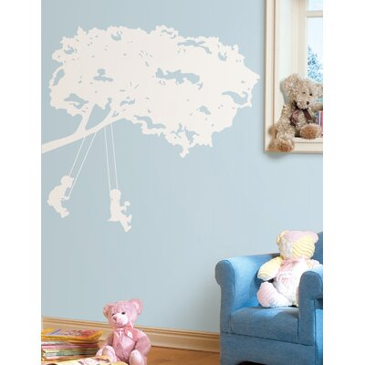 Room Mates Kids on Swings Giant Wall Decal