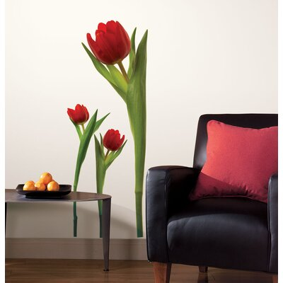 Room Mates Tulip Peel and Stick Wall Decal