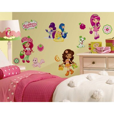 Room Mates Strawberry Shortcake Peel and Stick Wall Decal