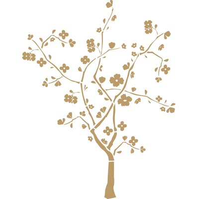 Room Mates Cherry Blossom Peel and Stick Wall Decal