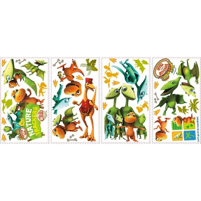 Room Mates 36 Piece Peel & Stick Wall Decals/Wall Stickers Dinosaur Train Wall Decal Set