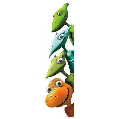 Room Mates 18 Piece Peel & Stick Giant Wall Decals/Wall Stickers Dinosaur Train Wall Decal Set