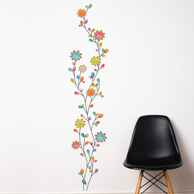 Room Mates Mia & Co Nature Dance Wall Decal