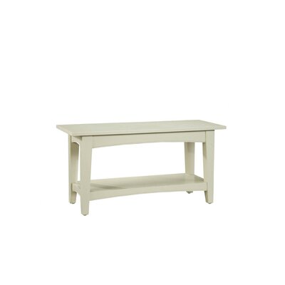 Alaterre Shaker Cottage Bench Table
