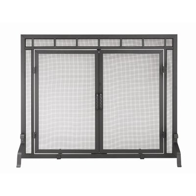 Minuteman International 4 Panel Wrought Iron Fireplace Screen
