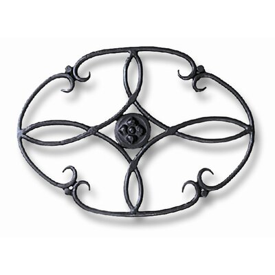 Clover Wrought Iron Trivet
