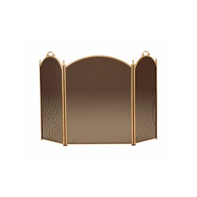 Minuteman International Brass Fireplace Screen