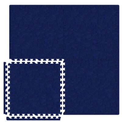 Alessco Inc. Economy SoftCarpets Set in Royal Blue