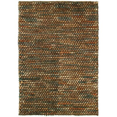 Classic Home Caillou Brown / Multi Pebble Shag Rug