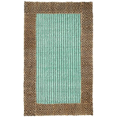 Mint Chocolate Jute Rug