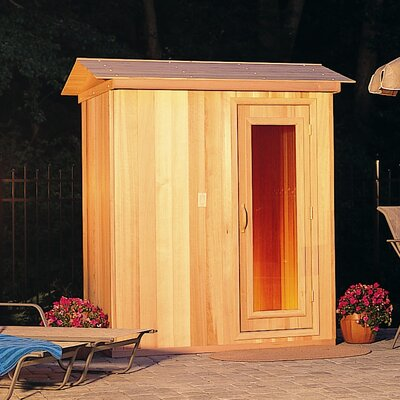 Baltic Leisure 2 Person Prebuilt Sauna