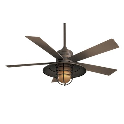 "Minka Aire 54"" RainMan 5 Blade Indoor / Outdoor Ceiling Fan"