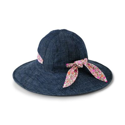 San Diego Hat Co Kids' Denim Floppy Hat