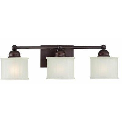 Bathroom Vanity Lights Wayfair : Minka Lavery 1730 Series 3 Light Bath Vanity Light & Reviews Wayfair