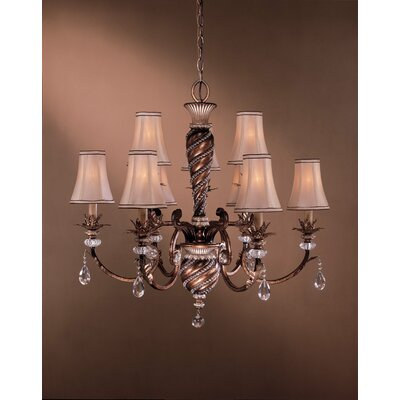 Minka Lavery Aston Court  Chandelier with Optional Medallion