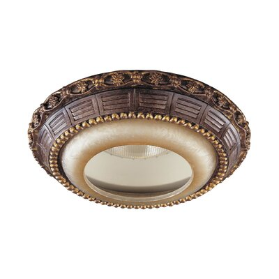 Illuminati Recessed Trim in Bronze