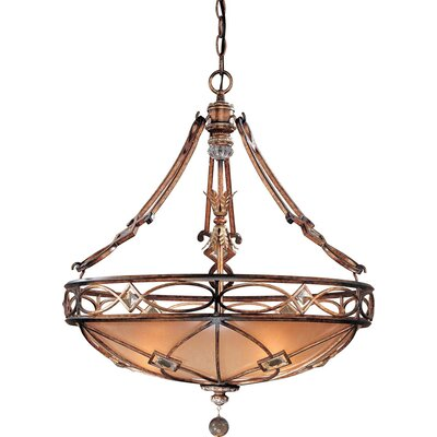 Minka Lavery Ashton Court 3 Light Foyer Inverted Pendant