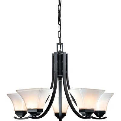 Minka Lavery Agilis 5 Light Chandelier Reviews Wayfair