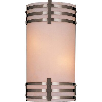 Minka Lavery Rectangle 2 Light Wall Sconce