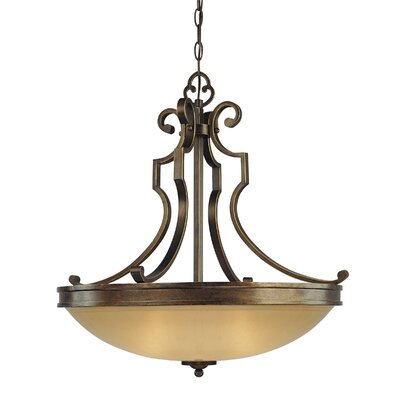 Minka Lavery Atterbury 3 Light Inverted Pendant