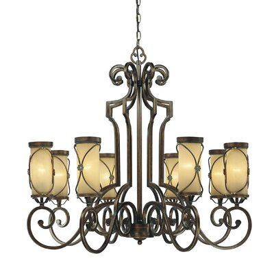 Minka Lavery Atterbury 8 Light Chandelier