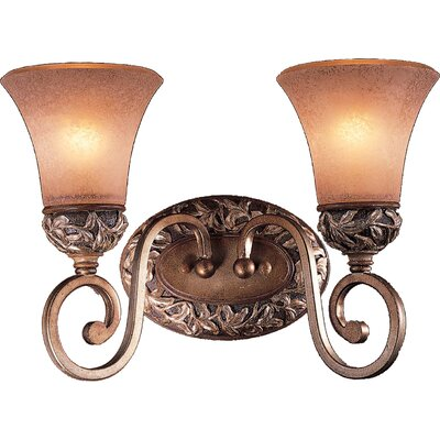 Minka Lavery Salon Grand Jessica McClintock 2 Light Vanity Light