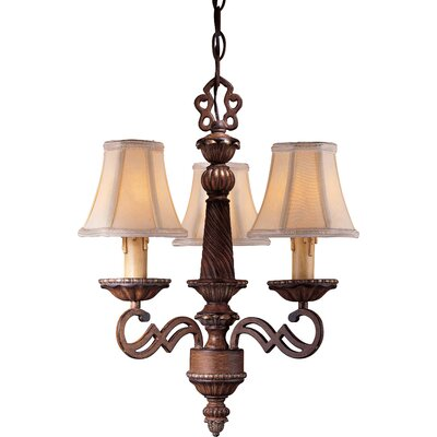 Minka Lavery Belcaro 3 Light Mini Chandelier