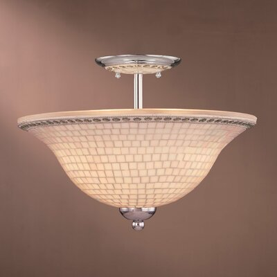 Minka Lavery 3 Light Semi Flush Mount