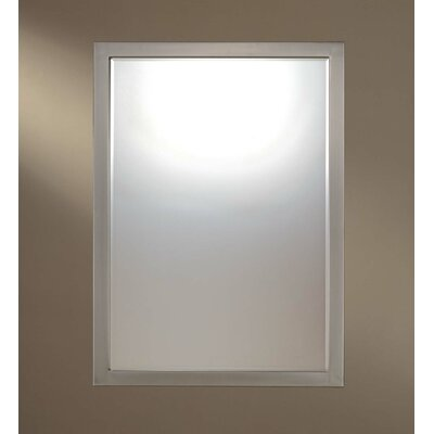 Minka Lavery Paradox Mirror in Brushed Nickel