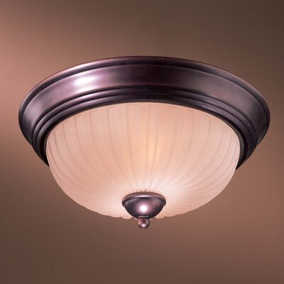 Minka Lavery 1730 Series 2 Light Flush Mount