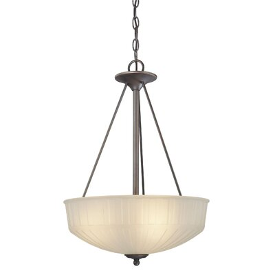 1730 Series 3 Light Inverted Pendant