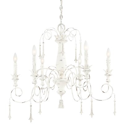 Minka Lavery Accents Provence 6 Light Chandelier