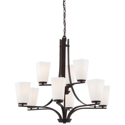 Minka Lavery Zacara 9 Light Chandelier