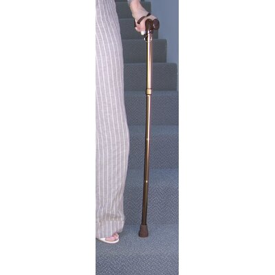 Jobar International Folding Adjustable Cane in Copper
