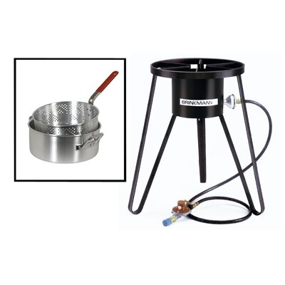 Brinkmann All Purpose Gas Outdoor Stove with Pan and Basket